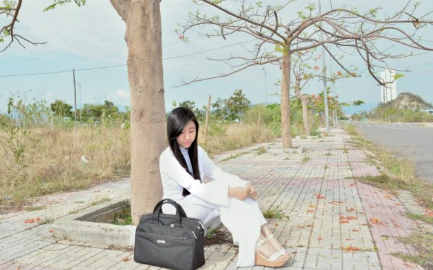 Nữ sinh THPT Chu Văn An  Nha Trang