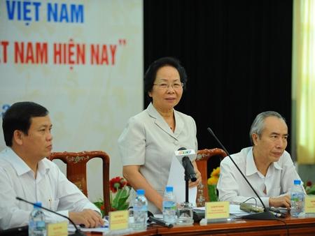 Phó chủ tịch nước : Bà Nguyễn Thị Đoan