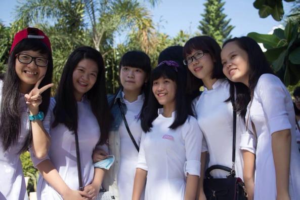 Học sinh Lý Tự Trọng Nha Trang